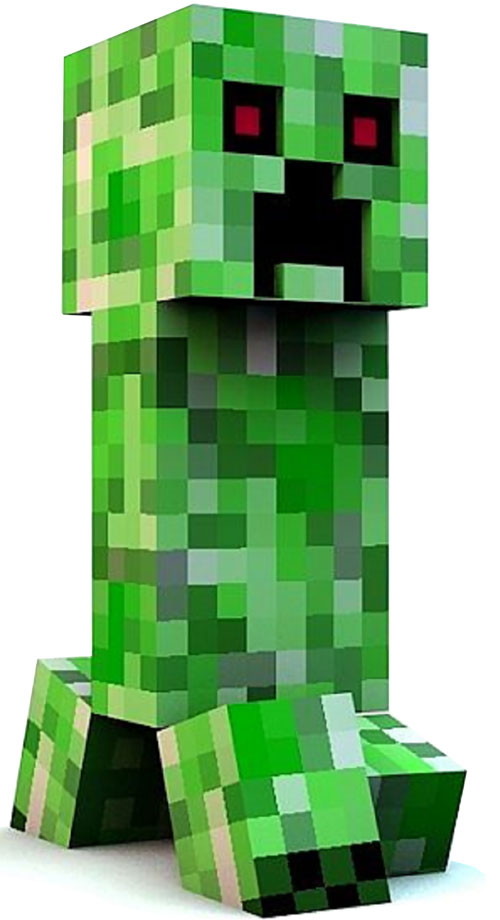 MineCraft Creeper Cake Recipe